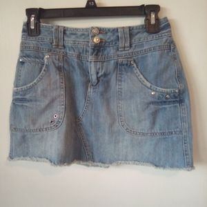 Limited too girls Jean skirt size 14